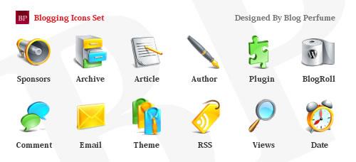 iconos para bloggers