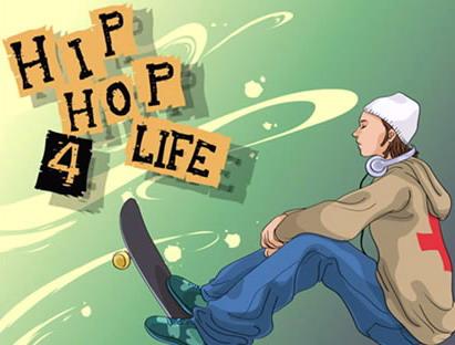 Recopilacion vectores hip hop