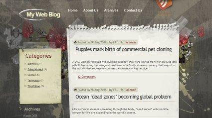 Themes para wordpress estilo grunge