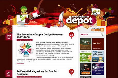 50 webs design