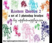brushes de garabatos para photoshop