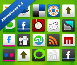 iconos para medios sociales