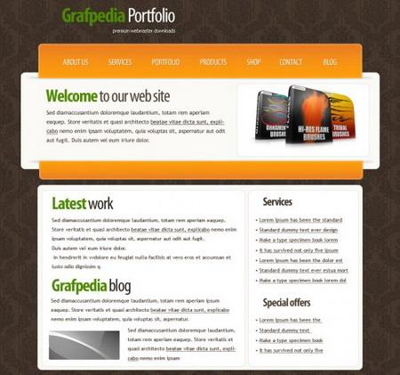 crear plantilla web 2 hermosa