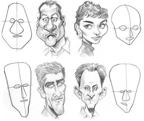 tutorial como dibujar caricaturas