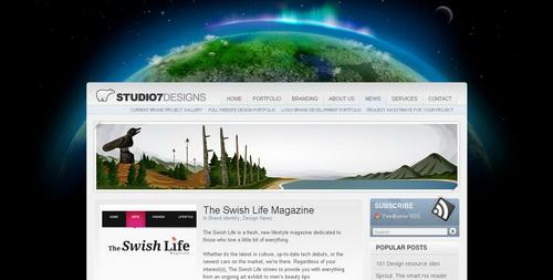 webs con diseños impresionantes