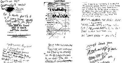 pinceles para photoshop manuscritos