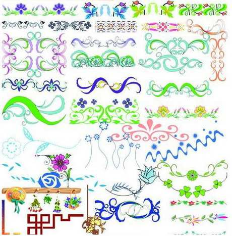 psd ornamentales decoracion