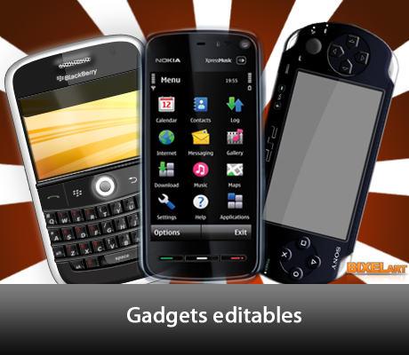 blackberry en psd gratis
