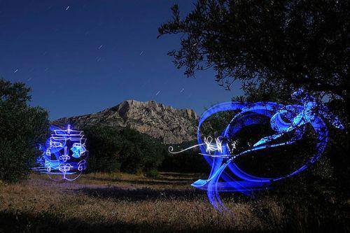arte con luces