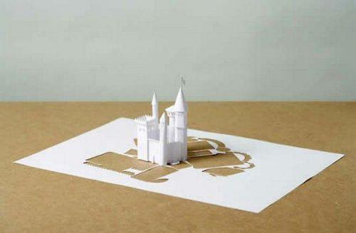 arte papel 3d