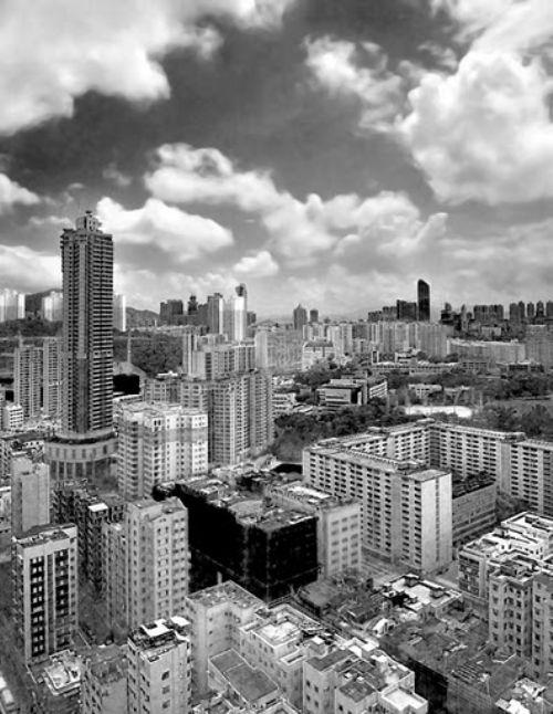 ciudad blanco negro