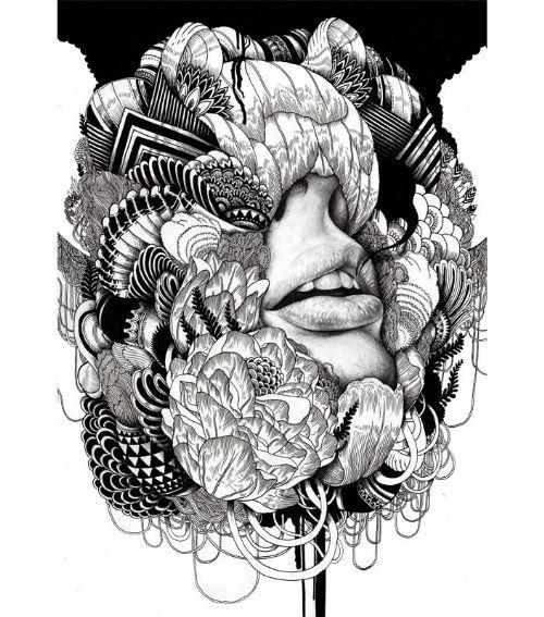 dibujos blanco negro