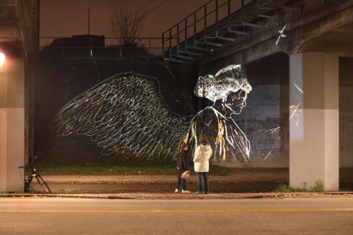 arte luz unico