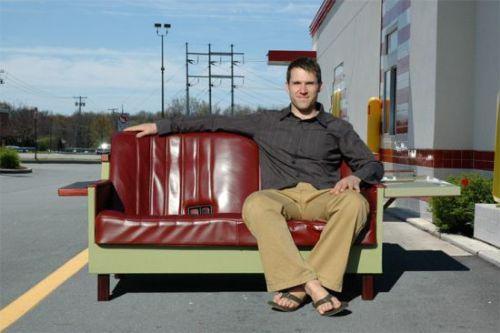 sofa reciclado
