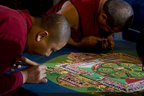 arte arena monjes