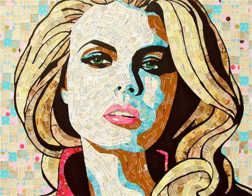 mosaico retrato