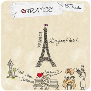 pinceles francia