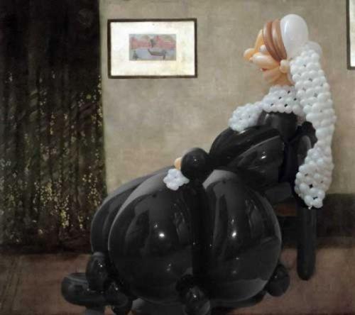 arte globos figuras