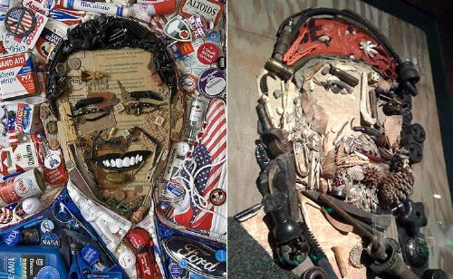 mosaicos basura