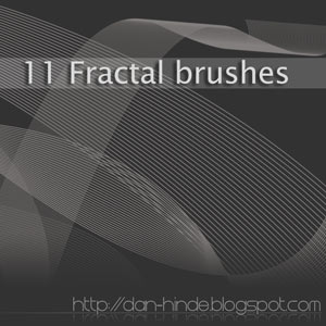 11 pinceles fractales para Photoshop