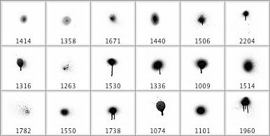 Pinceles de Spray en alta definición para Photoshop