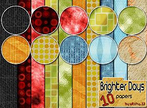 10 texturas de papeles brillantes