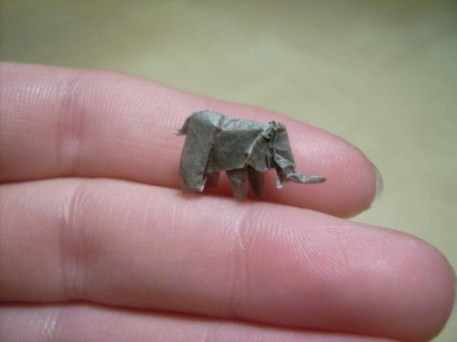 arte origami miniatura