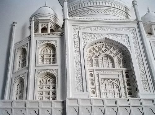 esculturas increibles papel