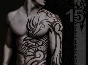 15 pinceles de tatuajes para Photoshop