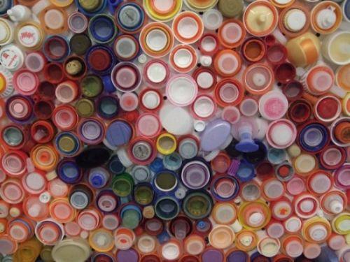 arte tapas botellas