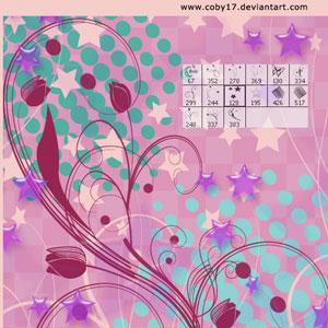 pinceles florales