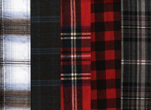 texturas telas escocesas