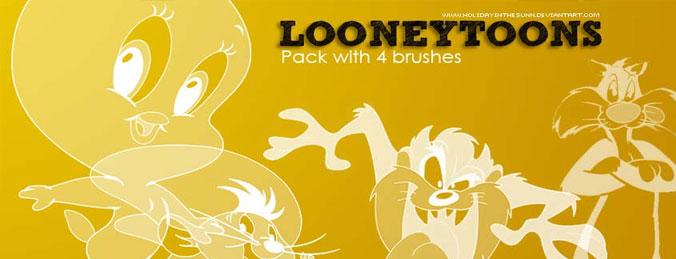 pinceles looney toones