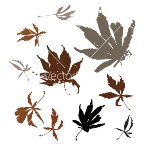 vectores otoño