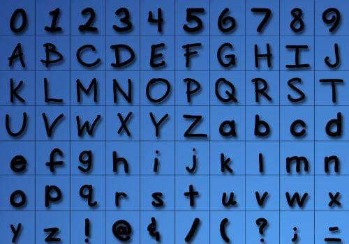 pinceles letras