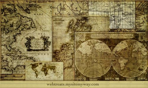 Pinceles cartografia