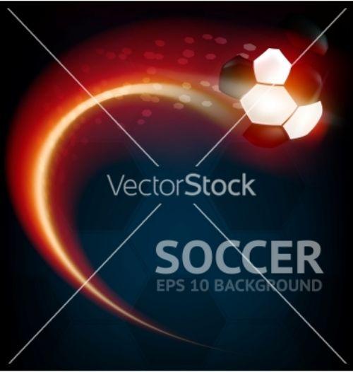 Vector futbol