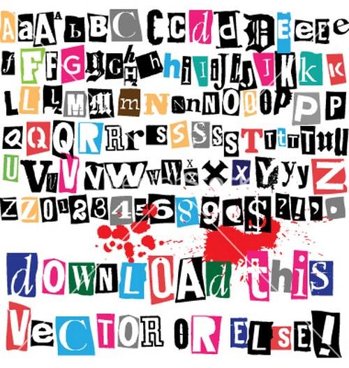 Vector Letras