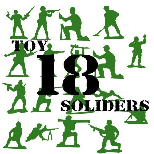 soldados juguetes