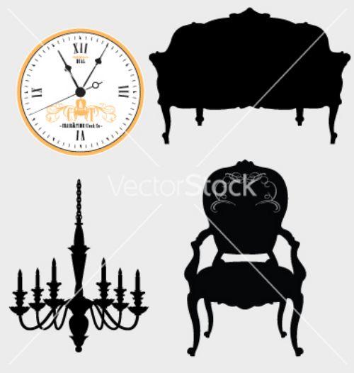 vectores muebles