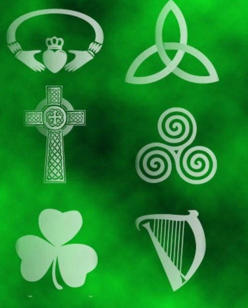 pinceles irlandeses