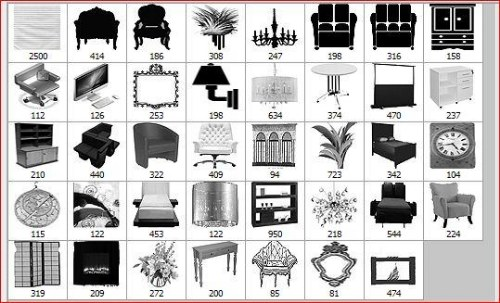 Set de pinceles de muebles cofregrafico for Planos de muebles gratis en espanol