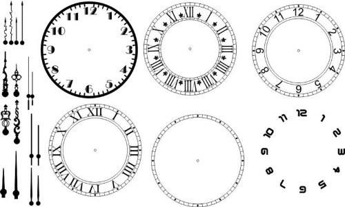 relojes pinceles