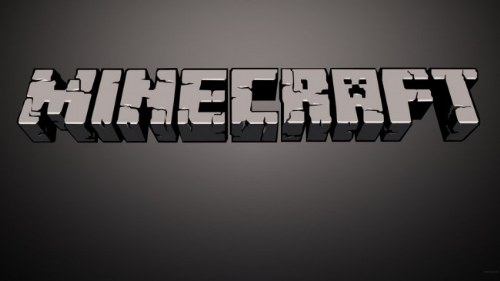 letras minecraft photoshop