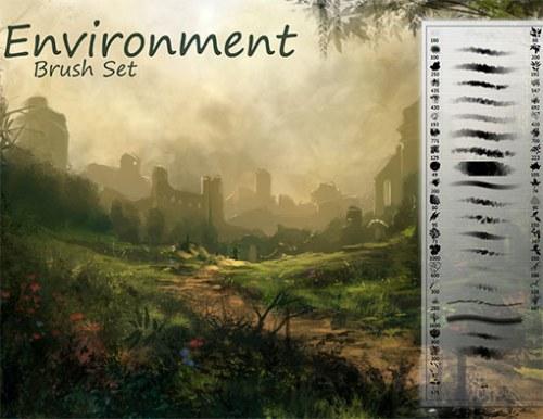 pinceles ambiente