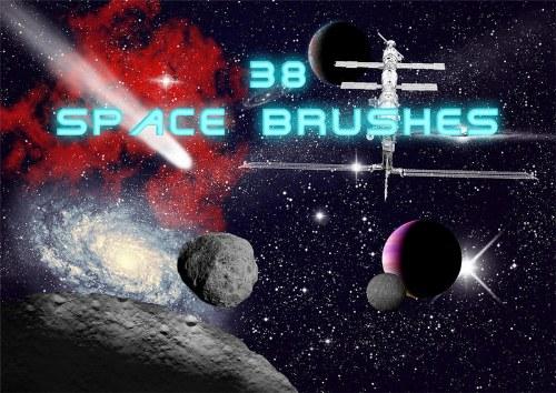 pinceles espaciales