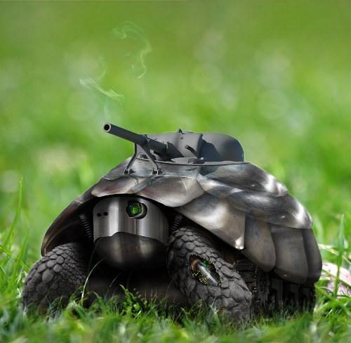 fotomanipulaciones animales robots
