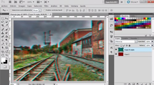 tutorial efecto 3d photoshop