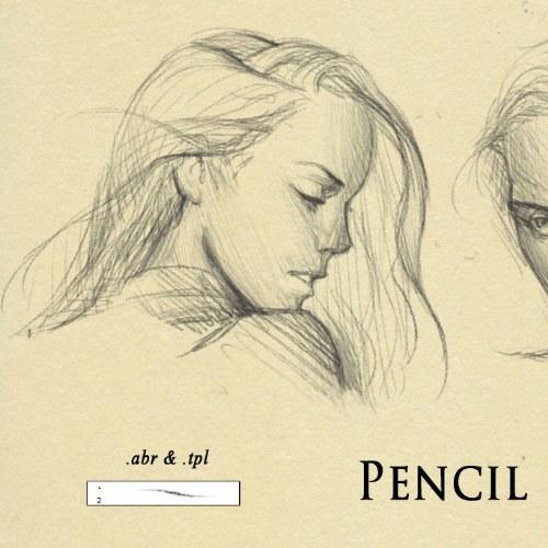 pincel lapiz dibujo