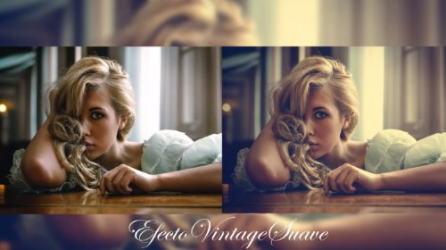 efecto vintage photoshop